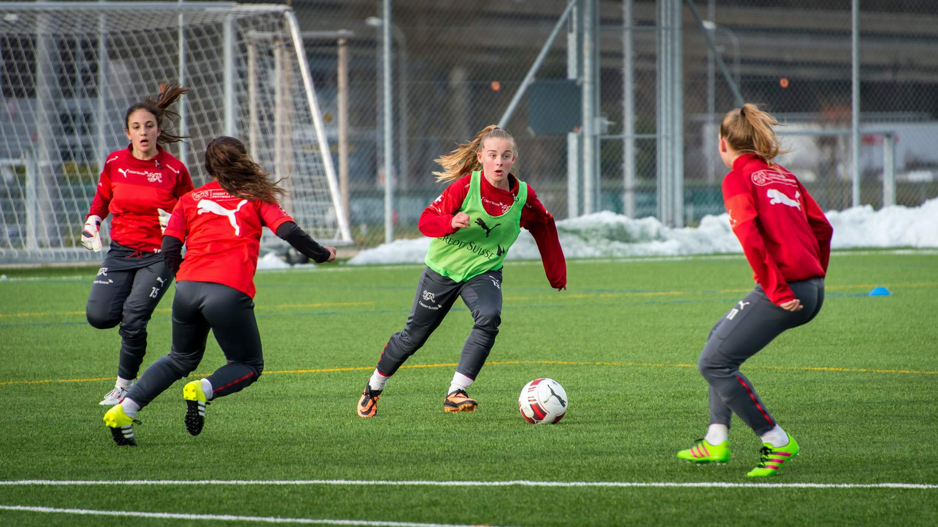 Women's football; women's national team; football; Rahel Tschopp; Credit Suisse Academy