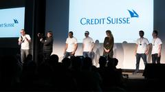 The Credit Suisse team is pitching their challenge