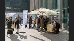 Impressions from the open day at MASI Lugano