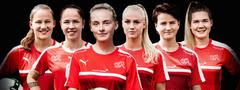 Women's national team; women's football; Nora Haeuptle; Martina Voss-Tecklenburg; young talent; national teams; Credit Suisse national teams; Tomorrow we'll be champions