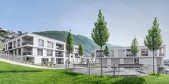 Located among the vineyards of Ticino, the senior citizens' residence Al Vigneto features apartments and care rooms that are tailored to the specific needs of older people.