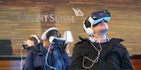 Museumsnacht Bern 2018: Virtual Reality bei der Credit Suisse