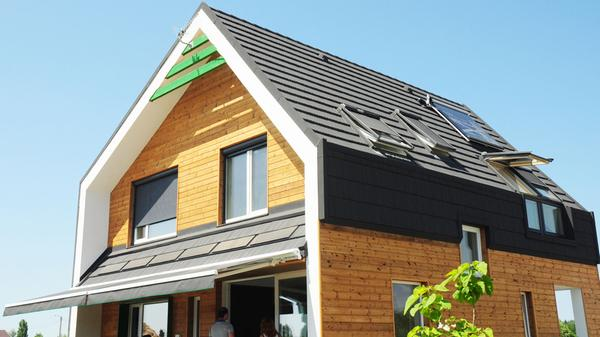 Sustainable living in an energy-efficient passive house