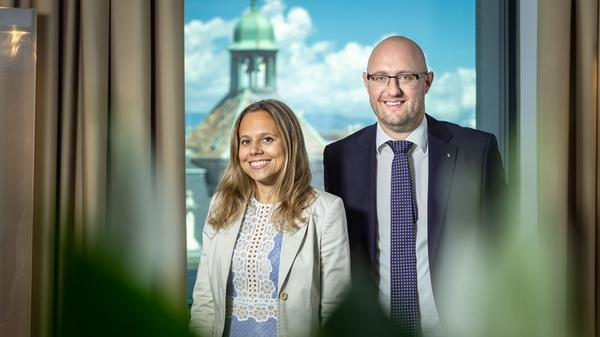 Alexandra Caliman and Marco Schmutz on the promotion of home ownership