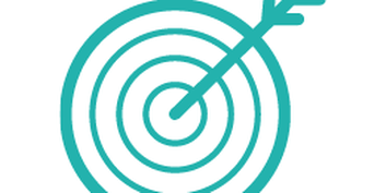 Icon with a target