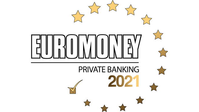 Credit Suisse was named the Best Bank  for UHNWIs in the Euromoney Private Banking Awards 2021.