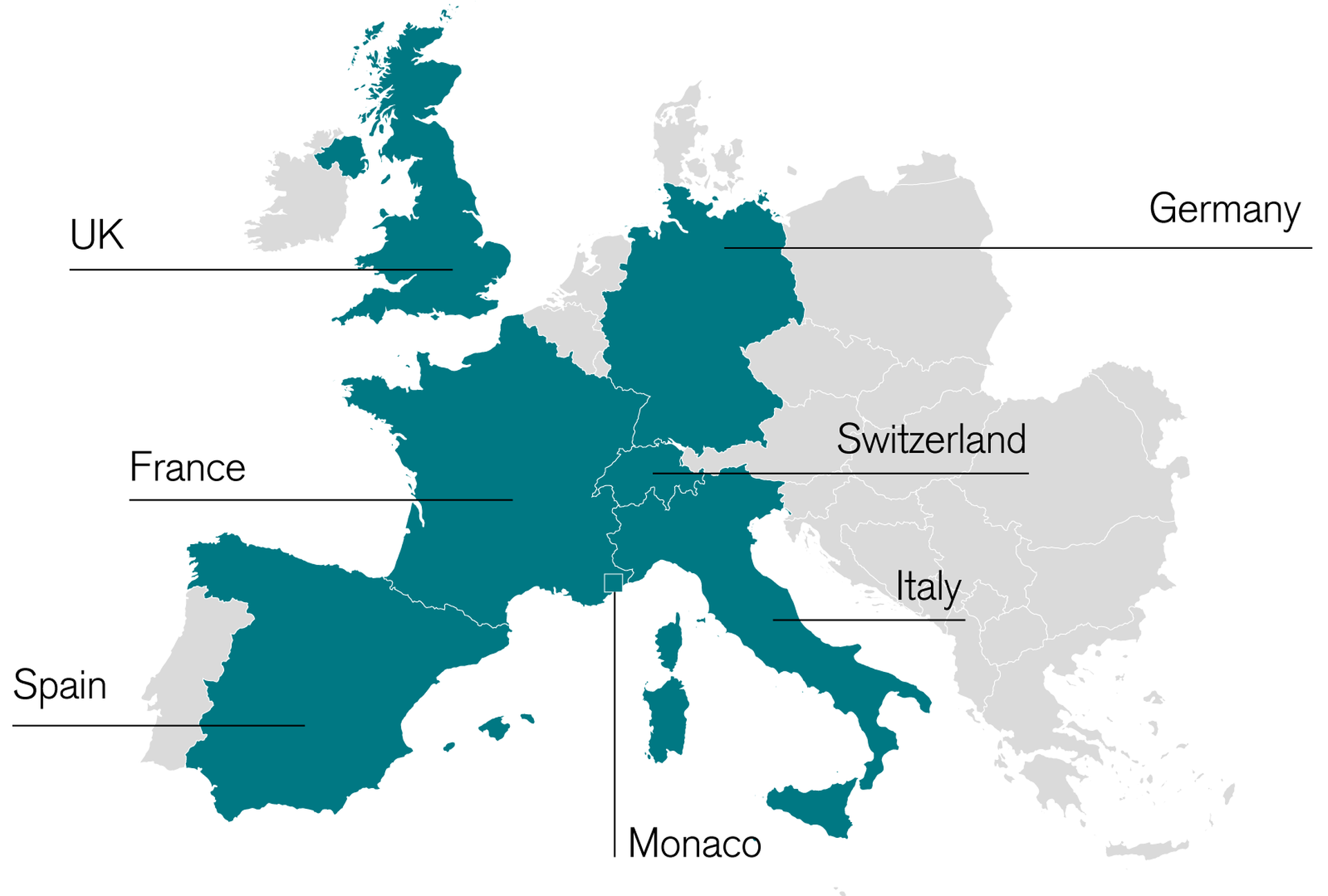 Cross-border support Real estate financing for wealthy individuals in Europe