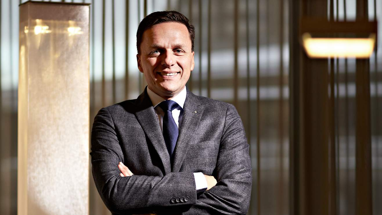 Andreas Gerber has been the new President of the Swiss Venture Club for four months.