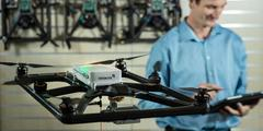 A new member in fire departments. Saving lives with drones.