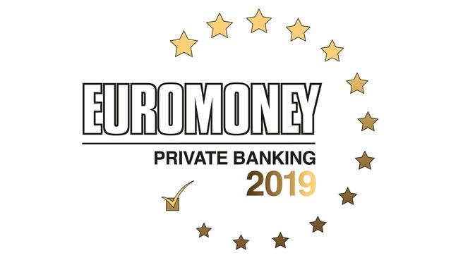 Euromoney Awards for Excellence 2018: Best Bank for Wealth Management in Western Europe