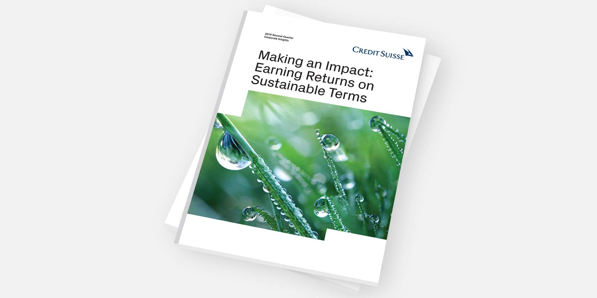 Making an Impact: Earning Returns on Sustainable Terms