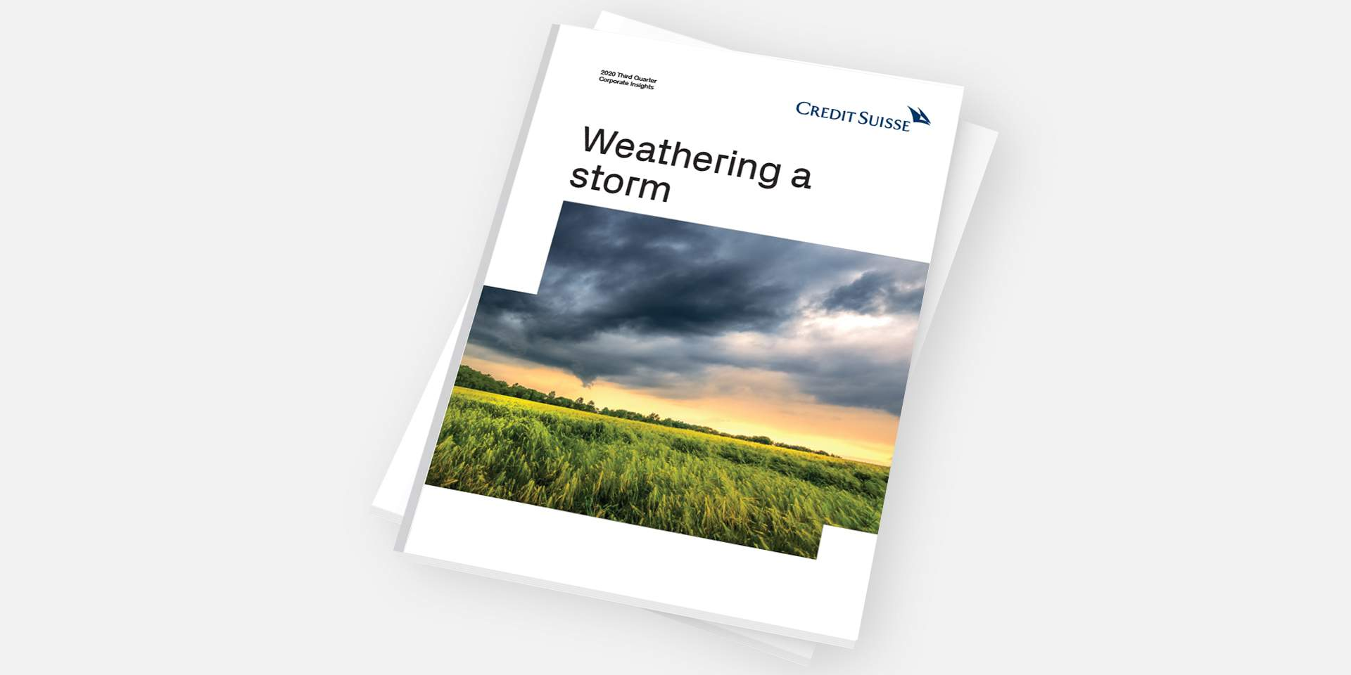 Weathering a storm